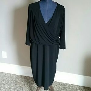 Eloquii Faux wrap dress. New with tags. 18/20.